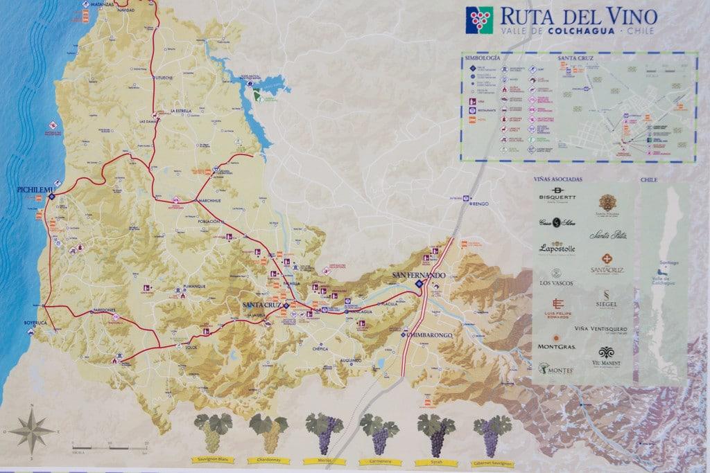 Ruta del Vino / Valle de Colchagua
