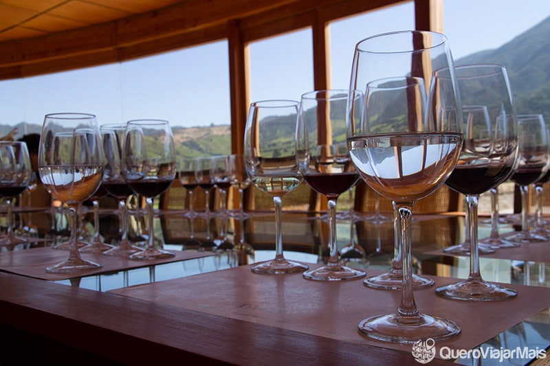 Melhores vinícolas de Santiago