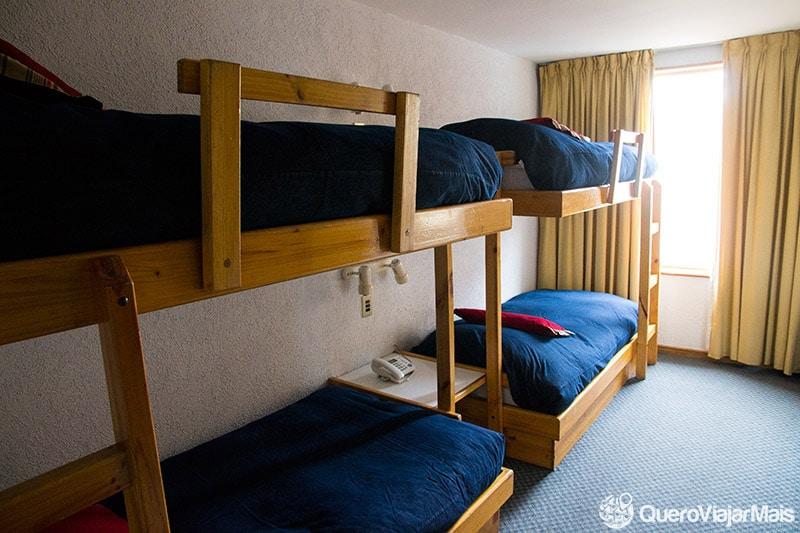 Hotel barato no Valle Nevado