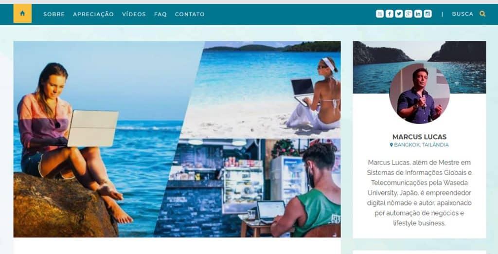 nomades digitais brasileiros Clube Libertação Digital