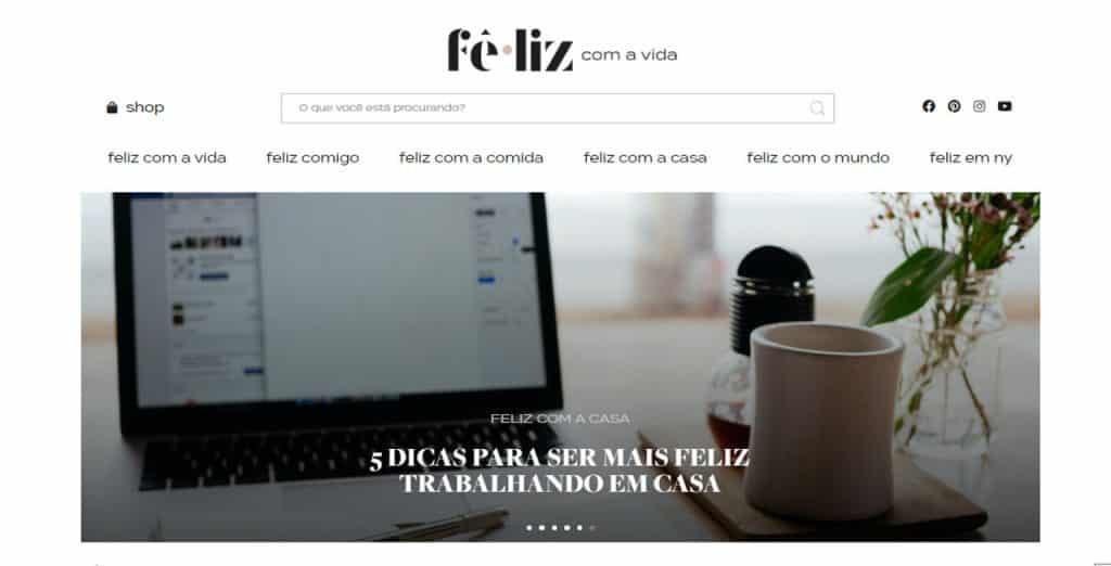 nomades digitais brasileiros Fê.Liz com a Vida