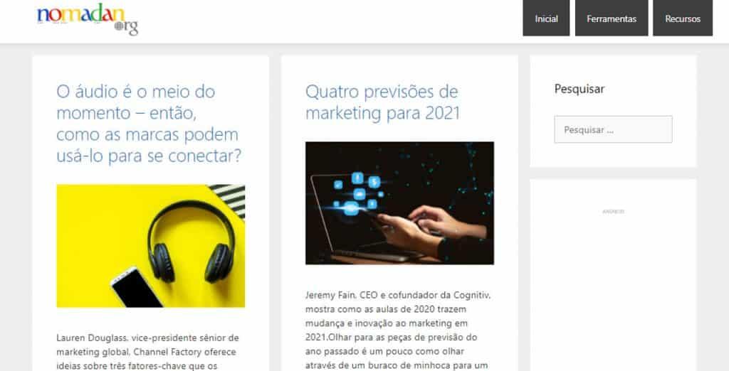 nomades digitais brasileiros Nomadan