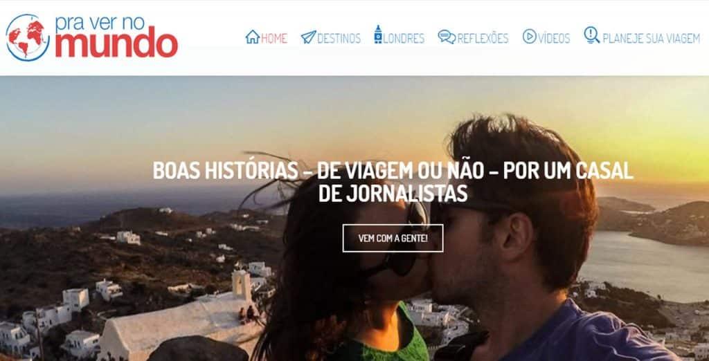 nomades digitais brasileiros Pra ver o mundo