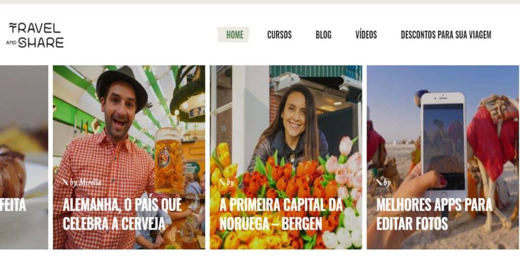 nomades digitais brasileiros Travel and Share