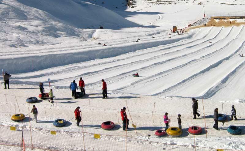 Valle Nevado ou Farellones com crianças?