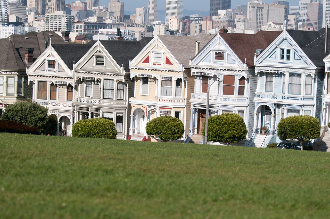 alamo square california