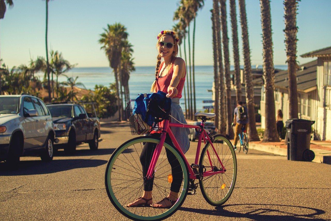 Andar de bicicleta em Miami Beach