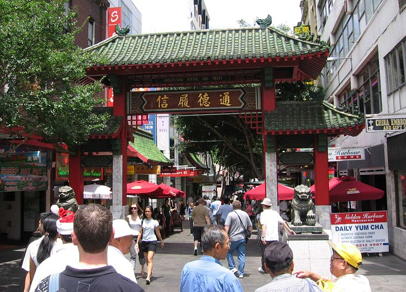 chinatowns australia