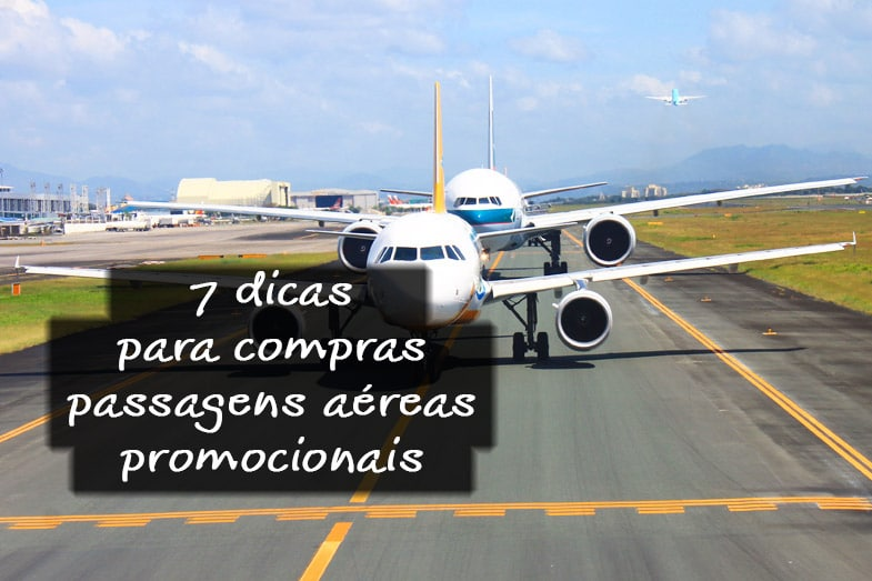 Comprar passagens aéreas promocionais