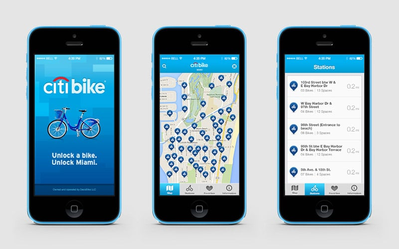 App Citibike Miami