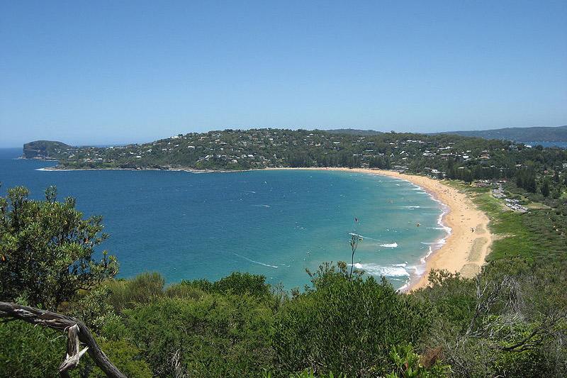 Famosa praia de Sydney