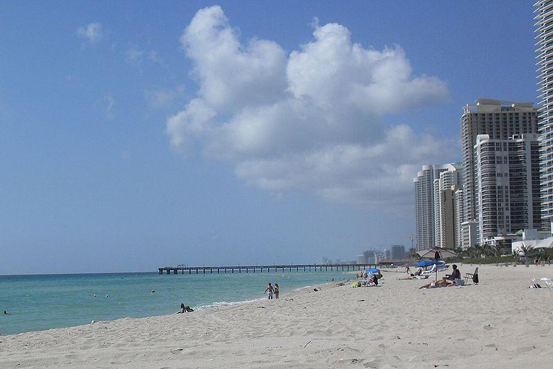 Lindas praias de Miami