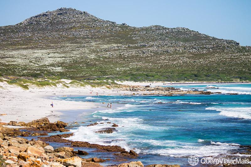 Lindas praias de Cape Town
