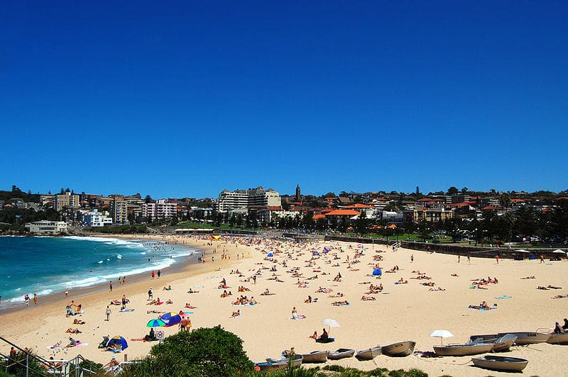 Lindas praias de Sydney