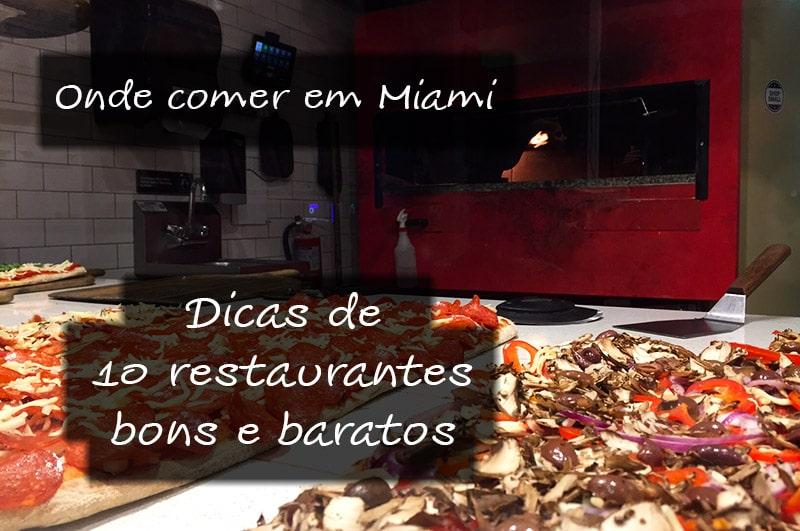 Onde comer e restaurantes em Miami