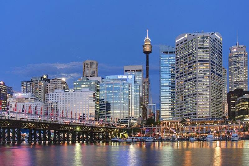 Pontos de interesse em Sydney