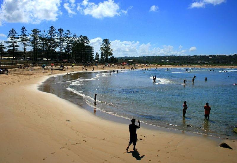 Praia famosa de Sydney