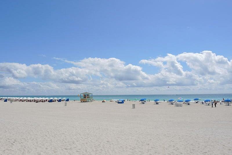 Praias em South Beach