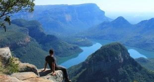 Parada em Blyde River Canyon, durante projeto na África do Sul.