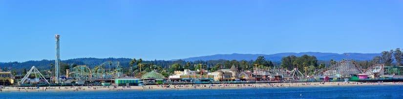 santa cruz parque de diversão california