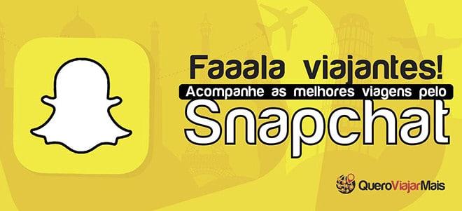Adicionar Snapchat de viagem