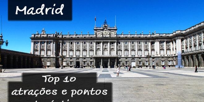 Atrações turísticas mais visitadas de Madrid