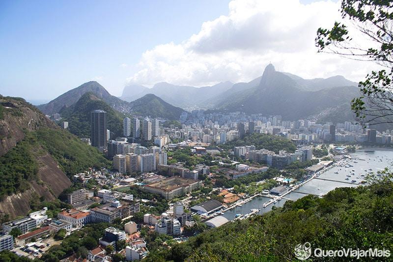 Vista do Bondinho no Rio de Janeiro
