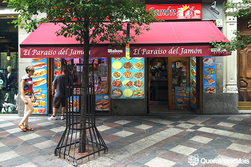 Comidas tradicionais de Madrid