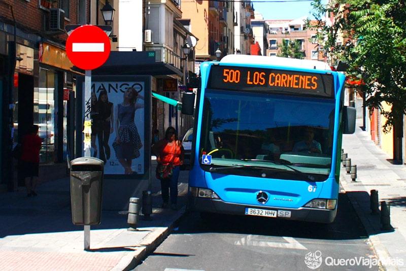 Como se locomover em Madrid