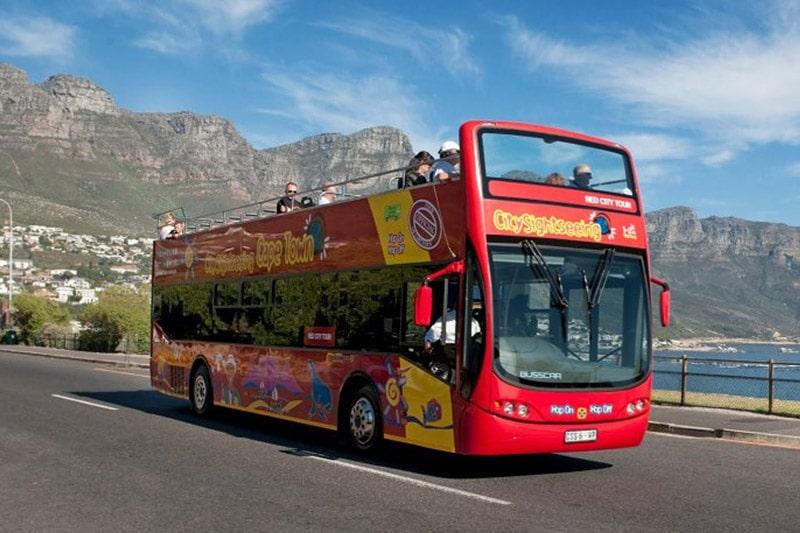 Ônibus turístico de Cape Town