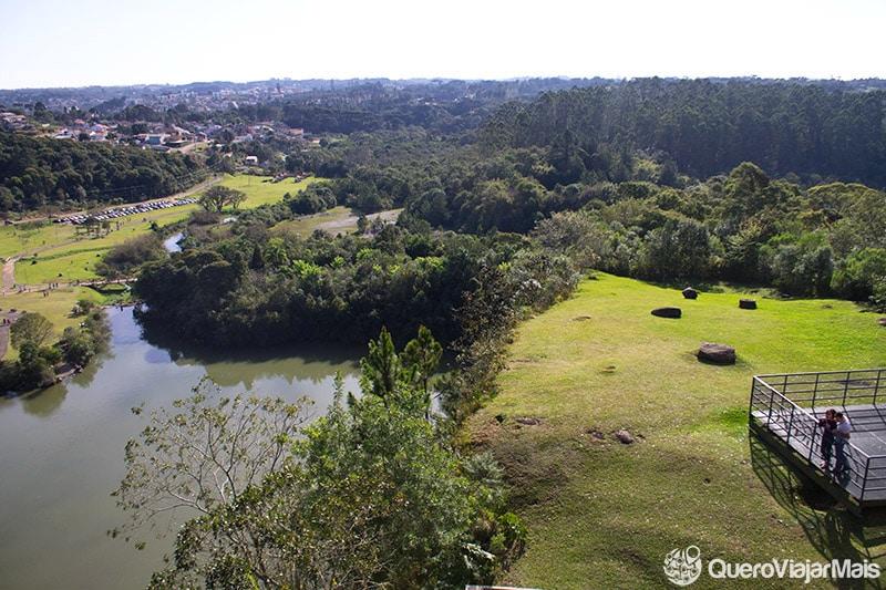 Pontos turísticos mais visitados de Curitiba