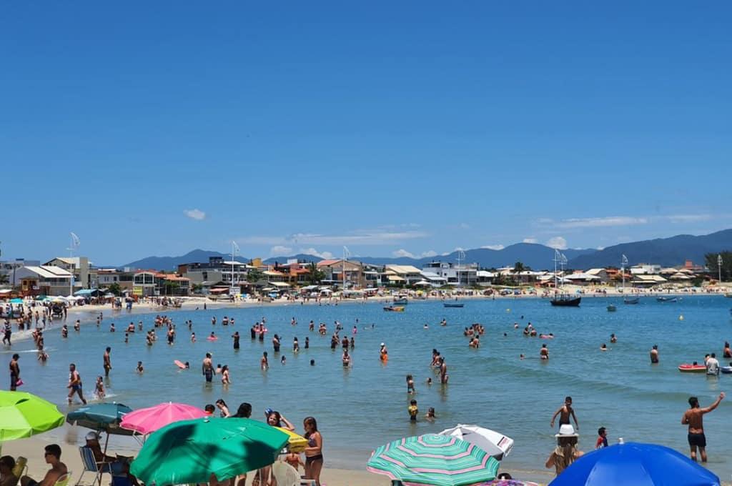 praia do mar aberto pinheira
