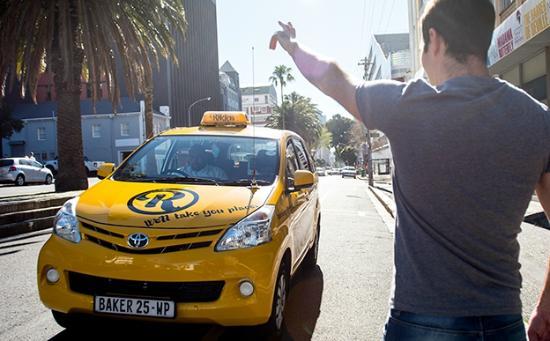 Taxis em Cape Town