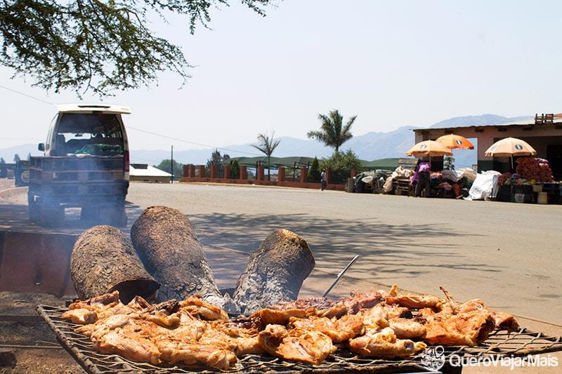 Chicken dust é comida típica