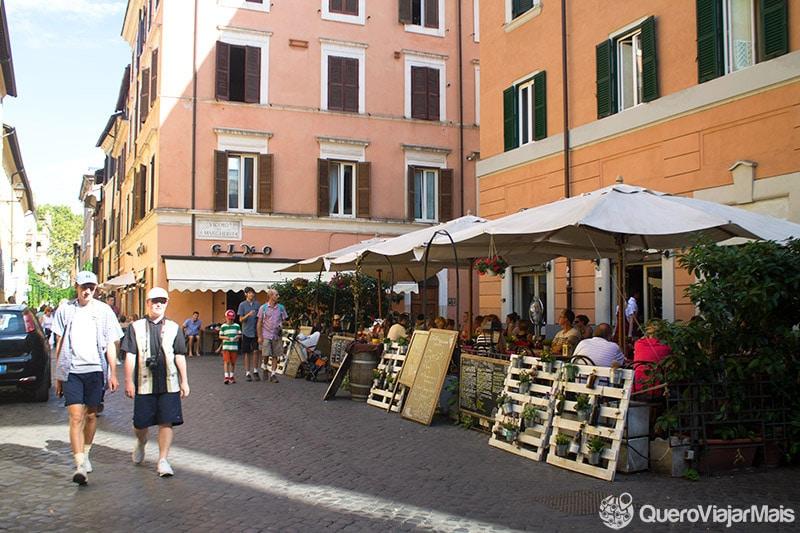 Melhores bairros em Roma