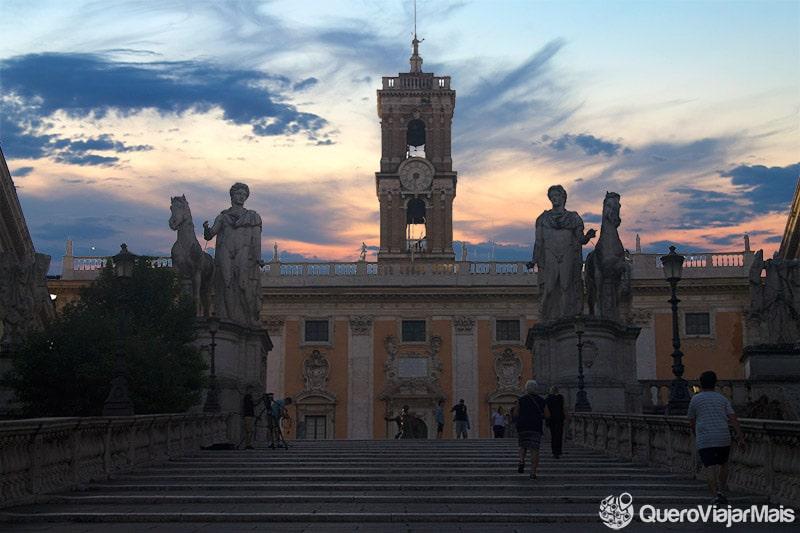 Onde curtir o pôr do sol em Roma