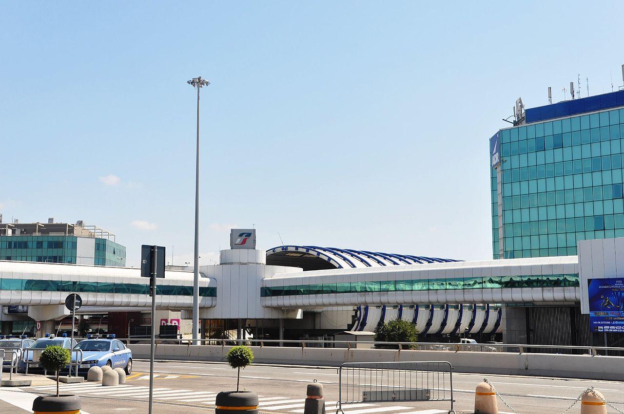 sair do aeroporto roma