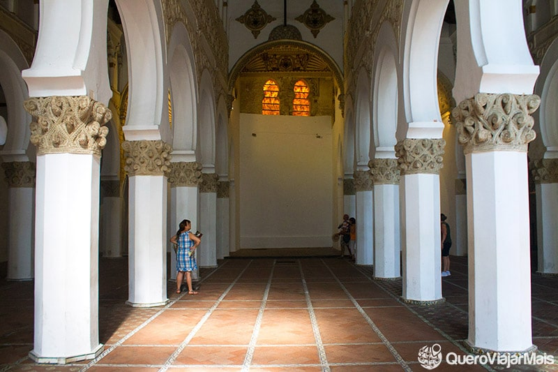 Sinagoga Santa Maria la Blanca, uma das atrações