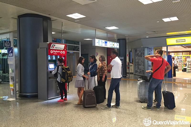Traslado do centro ao aeroporto de Roma