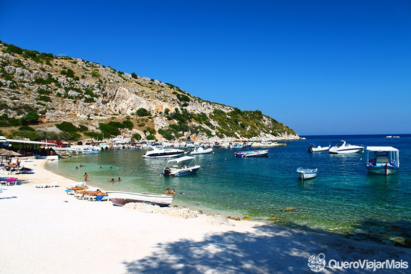 Belas praias de Zakynthos