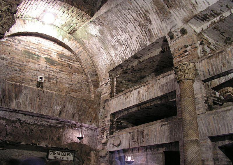 Catacumbas de São Calisto, em Roma