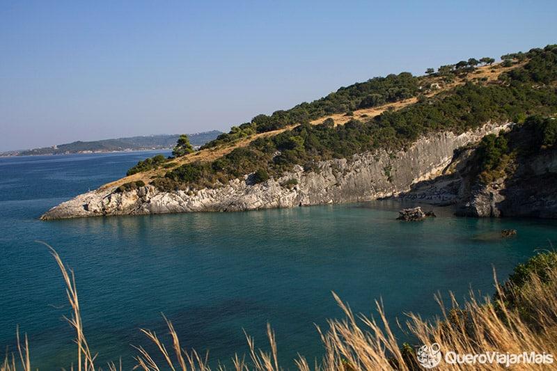 Lindas praias de Zakynthos