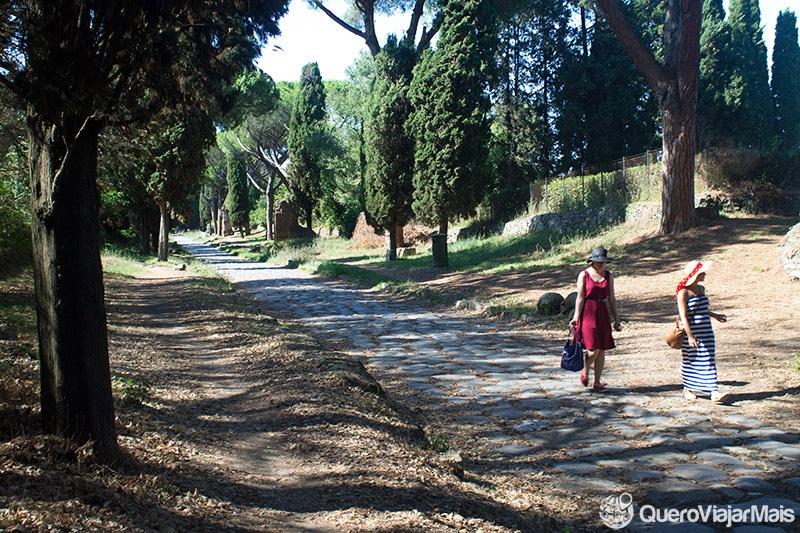 Passeio na Via Appia Antica, em Roma