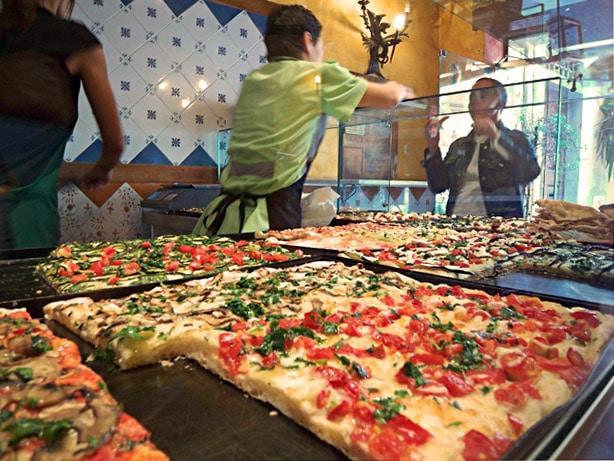 Pizzarias em Roma