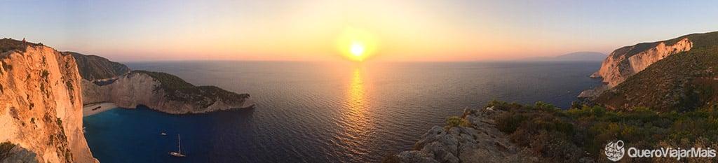 Praia mais famosa de Zakynthos