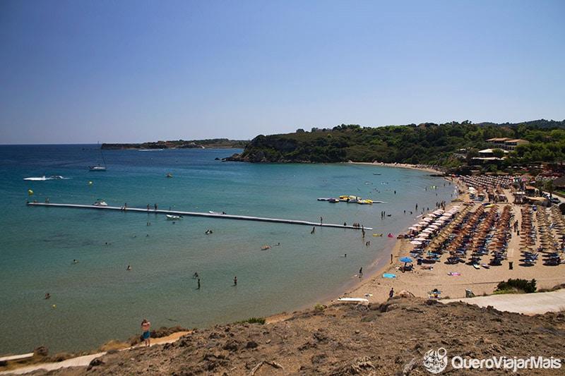 Praias bonitas de Zakynthos
