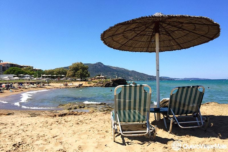 Praias lindas de Zakynthos