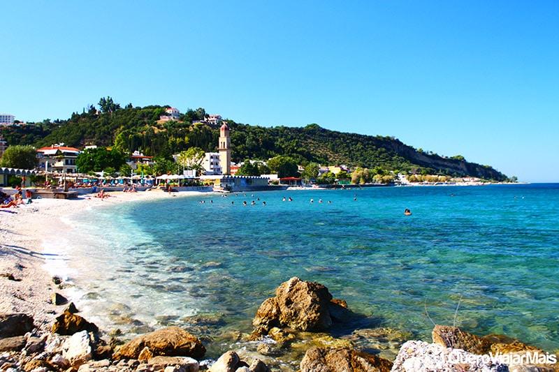 Praias de Zakynthos Town