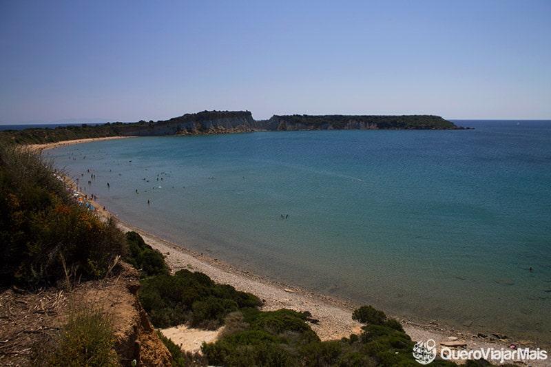 Principais praias de Zakynthos