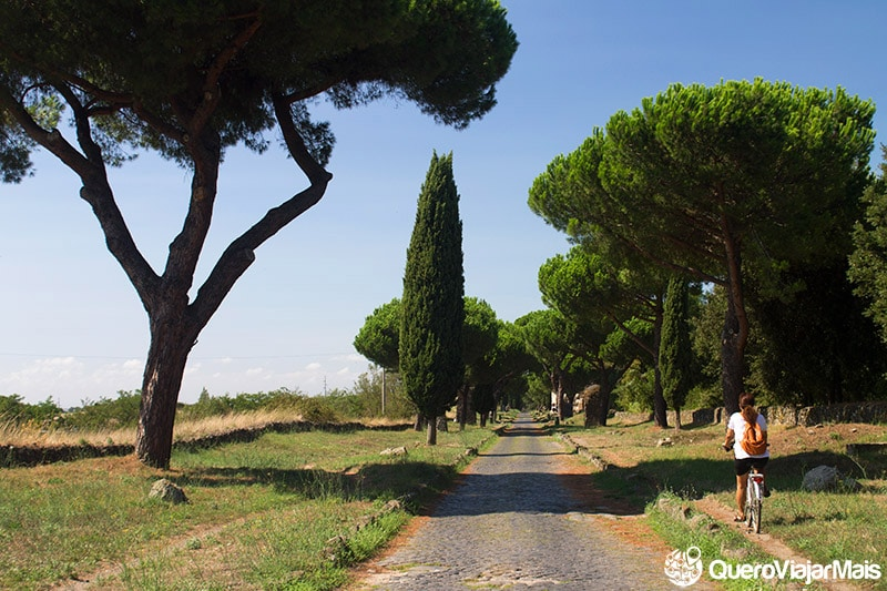 Roteiro de viagem de bike em Roma